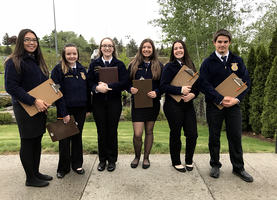 FFA Competes at Washington State