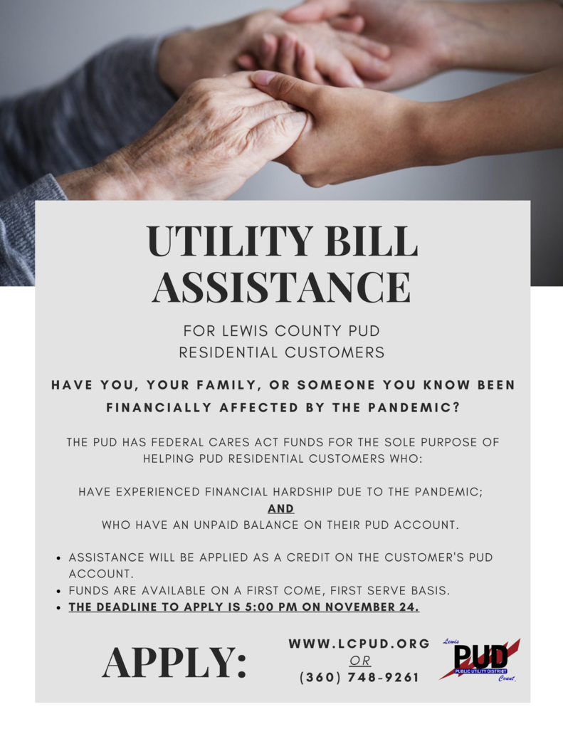Utility Bill Assistance Flyer